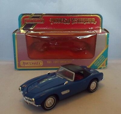 MATCHBOX Models of Yesteryear Y-21 1957 BMW 507 'Special Edition' ISSUE 1