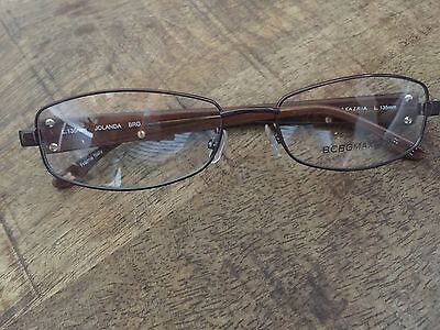 NEW WOMEN BCBG Maxazria Glasses Frame 54-16 L135 mm Jolanda Brown ...