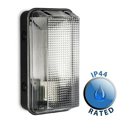 Modern Outdoor Wall Light IP44 Vandal Resistant Patio Lamp Fitting LED Lighting