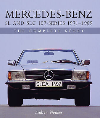 Mercedes-Benz SL and SLC 350 450 380 560 107 Series 1971-1989 NOAKES BOOK