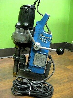 Hougen Rotabroach Magnetic Drill Press with Bit