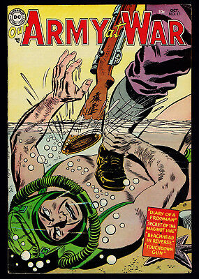 1954 DC Our Army at War #27 VG