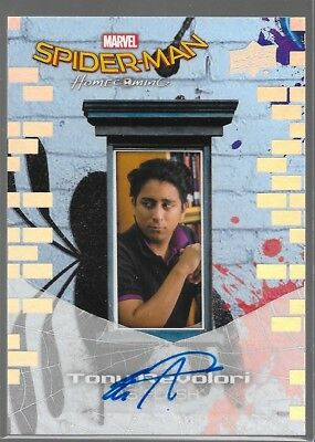 UD Spider-Man Homecoming Auto Tony Revolori as Flash SS6