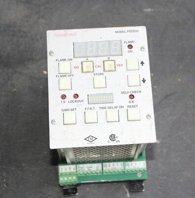 Honeywell Model Flame Monitor Signal Processor P522DC Used, Untested - RDS