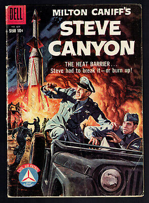 1958 Dell Four Color #939 VG Steve Canyon