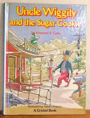 Uncle Wiggily and the Sugar Cookie Howard R Garis Vintage Childrens Book 1977