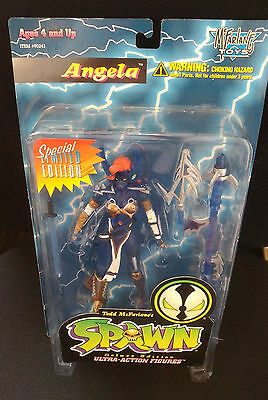 !! Spawn Special Limited Edition ANGELA Variant McFarlane Toys Figur !!