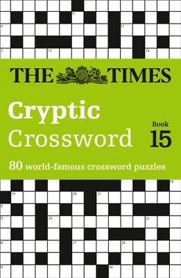 The Times Cryptic Crossword Book 15 (Paperback), The Times Mind G...