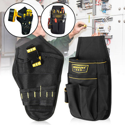 Drill Holster Cordless Tool Holder Heavy Duty Tool Belt Pouch Belt Bag Pocket