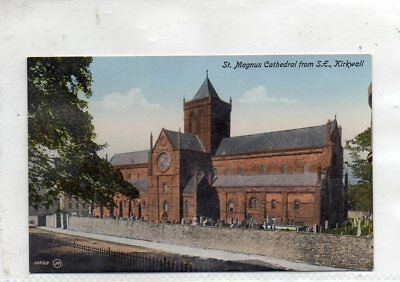 """""""""""postcard St.magnus Cathedral From S.e.kirkwall,orkneys,scotland"""""""""""