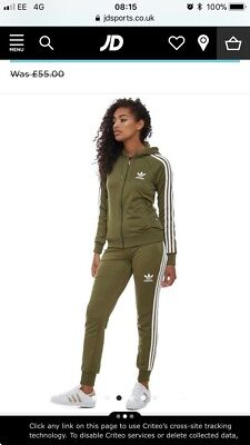 jd sports adidas tracksuit womens