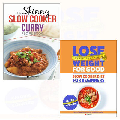 Slow Cooker Diet Recipes CookNation Fast Weight Lose Plan 2 Books Collection Set