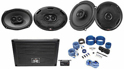 "MTX XTHUNDER800.5 800w RMS 5-Channel Amplifier+6x9""+6.5"" MTX Thunder Speakers"