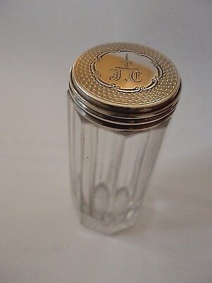 Cocktail Stick Jar Victorian Sterling Silver London 1874