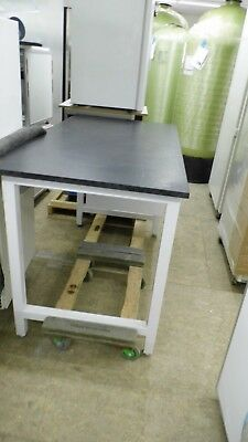 "60"" X 32"" X 37.5"" Tall Composite Top Adjustable Height Laboratory Bench/table"