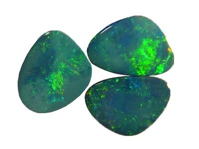 BUTW natural genuine australian opal triplet free form cabachon   9928B