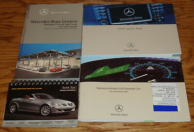 Original 2005 Mercedes Benz Owners Manual Supplements / Information 05 SLK