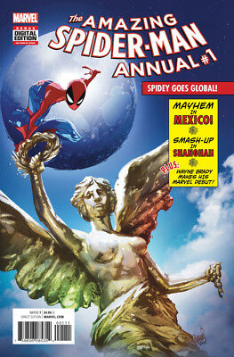AMAZING SPIDER-MAN ANNUAL #1, New, First print, Marvel Comics (2016)