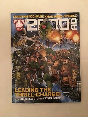 2000AD XMAS SPECIAL (PROG #2061), SIGNED BY 5, New, 2000AD (2017)