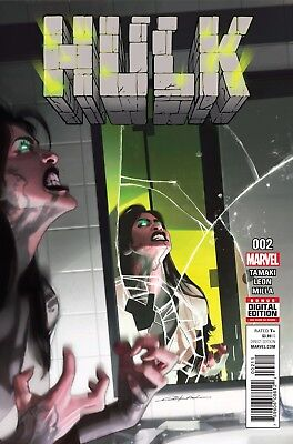 HULK #2, New, First print, Marvel NOW (2016)