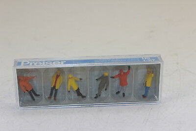 Preiser 14034 Workers in Protective Clothing 6 figures H0 1:87