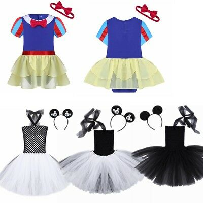 Kids Girls Fairy Halloween Costume Outfits Party Fancy Dress Up Clothes Kids