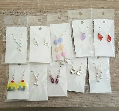 Wholesale Job Lot EARRINGS x 10 Pairs Car Boot Sale Market Resell