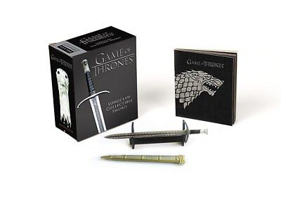 Game of Thrones: Longclaw Collectible Sword (Miniature Editions), Press, Running