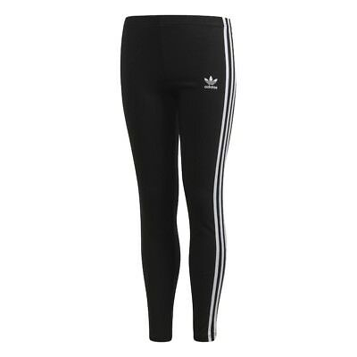 Adidas LEGGINS 3 STRIPES BAMBINA BLACK CD8411 Nero mod. CD8411