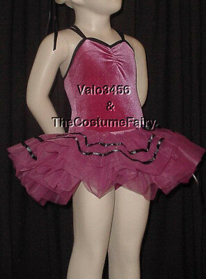 New Adult Extra Large ROSE Ballet Tutu Dance Costume