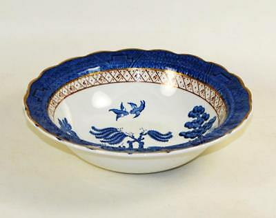 BOOTHS England Real Old Willow Serving Bowl Blue & White - Excellent Condition