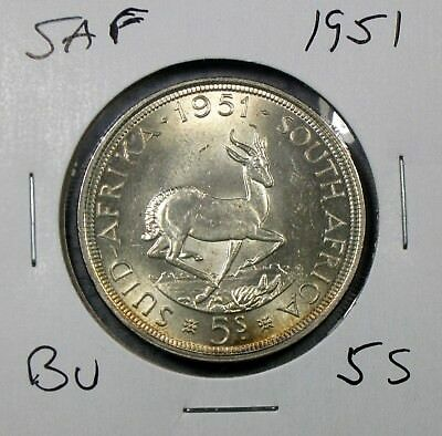 1951 South Africa Crown Uncirculated No Reserve!!