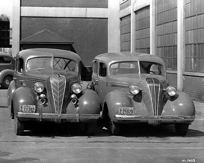 1936 & 1937 Hudson Terraplane Factory Photo ca9513