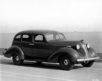 1937 Hudson Terraplane Sedan Factory Photo ca9516
