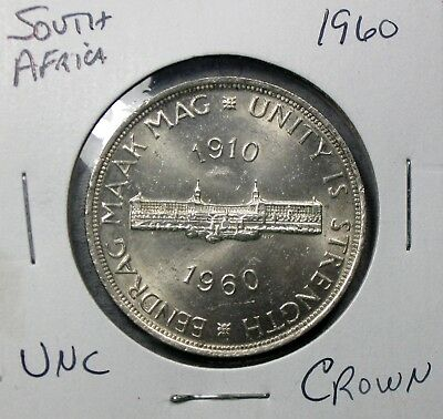 1960 South Africa Crown Uncirculated No Reserve!!