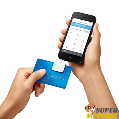 Brand New Square Credit Debit Card Reader for Apple iPhone and Android.free ship