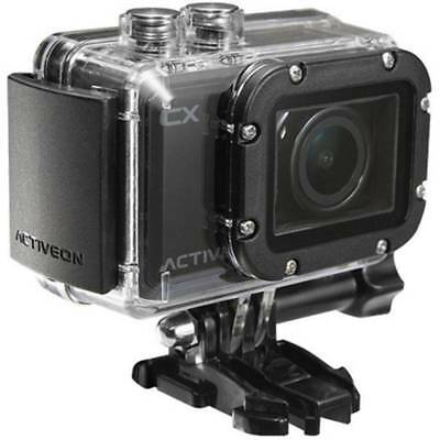 "Activeon CX 1080P Waterproof Action Camera 2"" LCD 5MP Photo CC10W  - Black"
