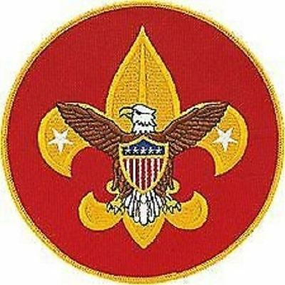 Boy Scout New Official Universal Jumbo Embroidered Jacket Display Patch Emblem
