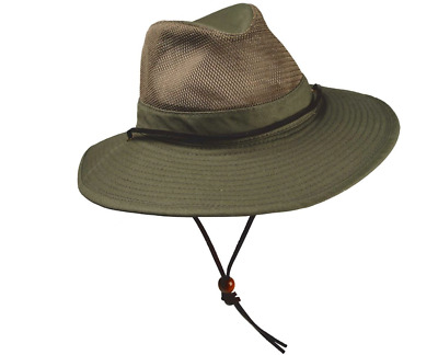 Boy Scouts of America Aussie Outback Mesh UPF 50+ Hat Embroidered Size 2XL New