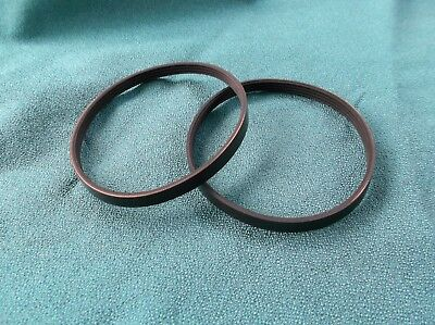 2 New Drive Belts For Rikon Band Saw Model 10-105 Band Saw Made In The Usa