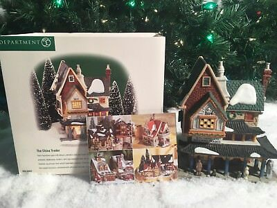 New Department 56 Dickens Village Series The China Trader #58447 Village Piece