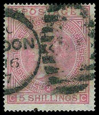 GREAT BRITAIN-a-a-1840-1870 ISSUES (to 57) 57a  Used (ID # 65829)