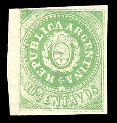 115829 Argentina 1914 Early Revenue Mint Pair 6p Latin America Stamps