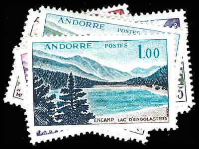 FRENCH ANDORRA 143-53  Mint (ID # 87432)