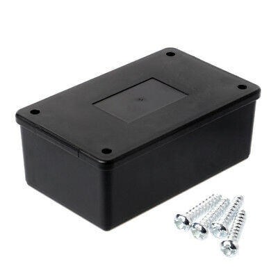 105x64x40mm Waterproof ABS Electronic Enclosure Project Box Case Black Plastic