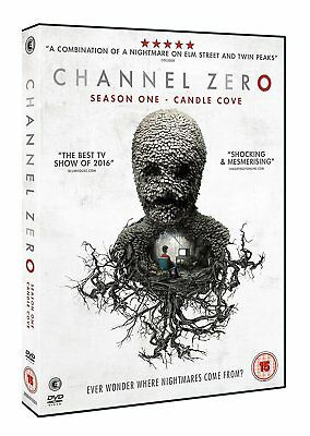 Channel Zero - Season One: Candle Cove - DVD NEW & SEALED (Series 1)