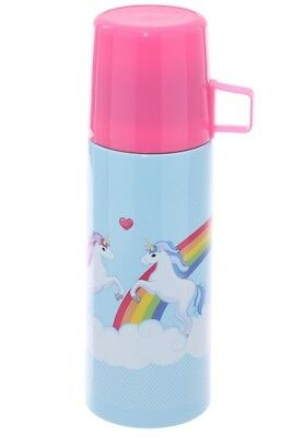 Thermosflasche Einhorn Thermoskanne B- Ware Warmhaltekanne Isolierflasche 350 ml