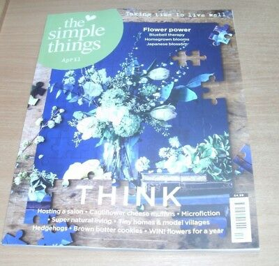 The Simple Things magazine #70 APR 2018 Microfiction, Bluebell Therapy, Hedgehog