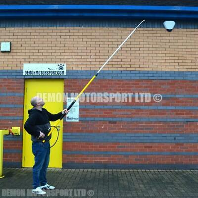 12 ft / 3.7m Extendable Pressure Washer Lance (3.3 kgs) Brickwork Roof Guttering