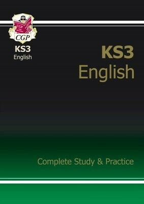 KS3 English Complete Study & Practice (Paperback), CGP Books, 978...